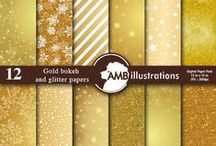 Christmas Patterns and Backgrounds / Beautiful Digital Papers and Backgrounds for the Holiday Seasons / by Mygrafico Digitals