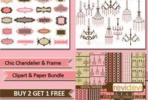 Mygrafico Bundles - Clipart and Digital Papers Bundled Sets / Are you looking for matching sets of clipart and digital papers? This board is your one stop shop to find a vast assortment of bundles for all your scrapbooking and craft needs! / by Mygrafico Digitals