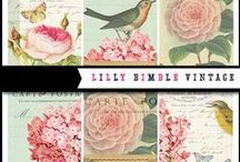 Vintage Graphics for Scrapbooking and Paper Crafts / Graphics of every kind that have that Vintage feel / by Mygrafico Digitals