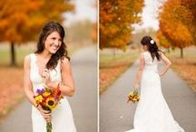 ~Fall Wedding Ideas~ / I'm almost 100% sure if I ever get married it will take place in the fall!!  / by Jessica Kraeer