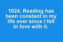 Because of Reading/Bookfessions / by Jessica Kraeer