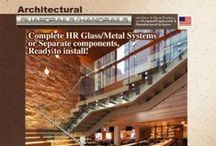 Hand Railing Systems / Manufacturer of Complete All Glass Railing Systems. PRL offers complete all glass hand and guard railing systems. We manufacture and extrude most of the railing components in house. Elegant Glass Railing Systems brings exciting innovation to the Architectural and Design industry.