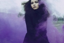purple smoke / purple this and purple that