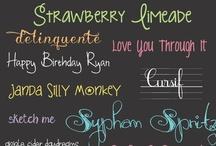 ♥ Fonts