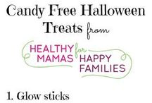 Candy Free Halloween Ideas / Sugar is a drag. These awesome ideas for a candy free halloween is for healthy mamas who want to raise healthy kiddos! Read for more reasons to go candy free: http://healthymamas.com/halloween-haunt-when-gooey-candy-makes-you-shudder/