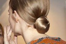 Yksinkertaiset kauniit nutturat / Yksinkertaisia ja kauniita sileäpintaisia nutturoita