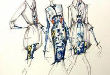 Desenho de moda / Fashion Draw / by Ricardo Albuquerque