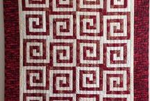 My Cut Loose Press Patterns / Patterns to go with Creative Grids rulers. Easy. Fun. No longer published for quilt shops. Contact me for information: kratovil@his.com