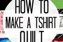 Memory / T shirt Quilts