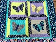 Quilt Tutorials / Clever ideas. Easy techniques. All about quilts!