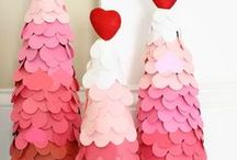 Valentine's Day Decor / Work some cupid magic on your apartment with these fun decor ideas and DIY projects!