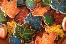 Cookies: Fall Themed