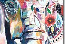 Bohemian Art & Design / Expressive bohemian art and design.
