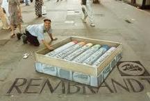 chalk art / krijt kunst