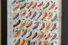 birds of a feather flock together / by B