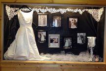 The Myth wedding showcase window displays / Myth golf & banquets wedding highlights