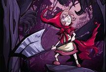 Little Red Riding Hood / Little Red Riding Hood and Wolf