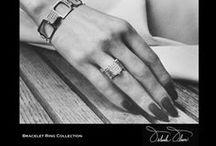 Bracelet Rings by Orlanda Olsen  / Mechanically designed Rings that open to become Bracelets #OrlandaOlsenBraceletRing