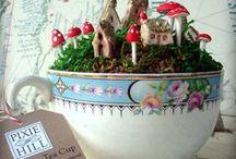 fairy/ and dollhouses.