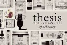 Thesis Products / Pure, Eco-Friendly, Vegan, Organic & Homemade!
