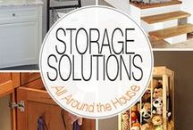 Storage and Organization / Our favorite storage and organization ideas to spruce up your rental home, not matter how large or small the space! / by EasyRent.com