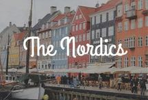 Explore / The Nordics / The Nordics travel tips, inspiration, and destination guides. Iceland / Norway / Denmark / Sweden / Finland