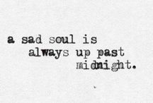 Sadness / Depressed and in pain.
