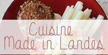 """Recettes Made in Landes / Des produits du terroir """"made in Landes"""" fabriqués par des passionnés et à consommer sans modération sont les stars de succulentes recettes de cuisine.  Si on vous dit Asperges des Sables, Bœuf de Chalosse, Canard fermier, palombes, Kiwi de l'Adour, Armagnac Landais ? A cuisiner, tester et déguster sans modération!"""