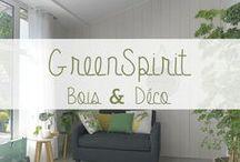 "Inspiration ""Le vert Greenery"" - Green spirit"