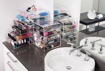 Clear Acrylic Makeup Organizer w/ Drawers | eDiva
