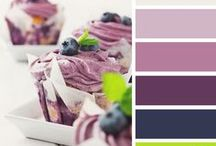 Colour palates.