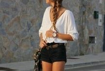 Clothes and style.