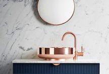 bathrooms / bathroms inspiration for blossomstudio and mrsblossom