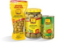 Manzanilla / Constituye la variedad de aceituna de mesa más ampliamente reconocida en todo el mundo como de mayor calidad. Por ello, su uso en multitud de envases y elaboraciones prima sobre todas las demás.