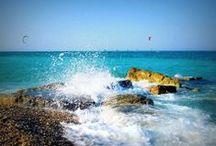 """La spiaggia e il mare di Fano / """"Dopo l'istante magico in cui i miei occhi si sono aperti nel mare, non mi è stato più possibile vedere, pensare, vivere come prima...""""."""