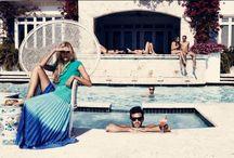 Californication / Palm springs, luxury, blonde bombshell