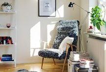 Decoration ~ Rincón de Lectura ~ Reading Corners / #Decoration #Rincónlectura # Readingcorners