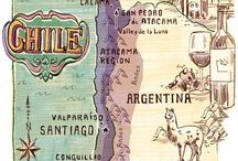 VIAGEM: CHI-CHI-CHI-LE-LE-LE / Santiago, Viña del Mar, Valparaiso - Chile.