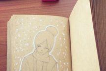 My drawings / My progress, transformation