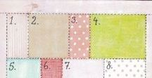 Patchwork Patterns, Hints & Tips! / Need help with your patchwork?  This collection of handy hints and patterns will help inspire you