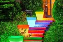 Outdoor Ideas / Adding a splash of fun & creativity to nature