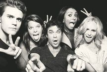The vampire diaries crew! / Mostly on the main Cast / by Johanness