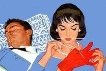 Mid-century / Vintage, '50 '60, illustratori americani etc.