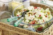 Tasty Turkey Salads / A great collection of tasty and delicious summer salads with British turkey