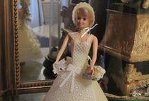 PERGAMANO ROBES & POUPEES / Thème des robes pour poupée Barbie,  robes et accessoires pour poupées. Dresses for Barbie dolls, Creations