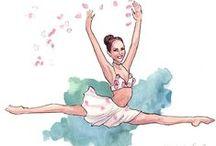 DANSE Images / Sur le thème de la danse et du sport, modèles et patrons. Dance theme Pergamano, patterns and creations