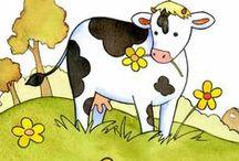 ANIMAUX Images / Pergamano, illustrations sur le thème des animaux,