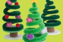NOËL DÉCORATIONS / Décors originaux pour les fêtes de fin d'année.