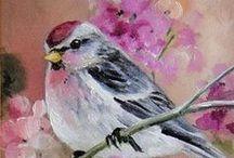 OISEAUX (Paulie Rollins) / Collection. Les oiseaux, dont la grande intelligence est souvent ignorée. Paulie Rollins semble elle-même être un oiseau. Pour les réalisations Pergamano