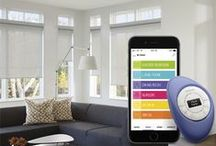 Smart Shades Smart Homed / Operate your shades using a hand held remote, wall switch, your tablet or phone.  No wires required.   PowerView Motorization presents the future of motorized products today. Automation allowing you to set the scene, light your rooms the way you like, and make your home more comfortable for you. Take a look a the multiple products we are able to offer with PowerView Motorization.